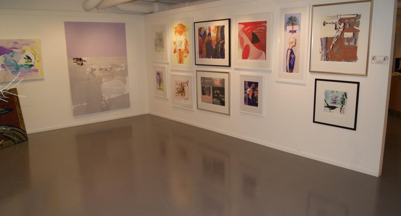 Hjørne av galleriet, foto